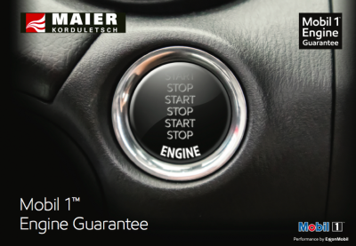 Mobil 1 Engine Guarantee